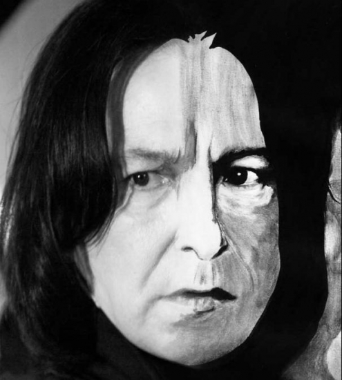 Alan Rickman by HelenaFan